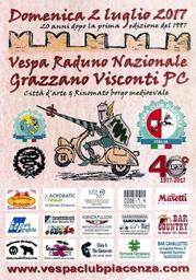 Vesparaduno nazionale Grazzano Visconti (PC)
